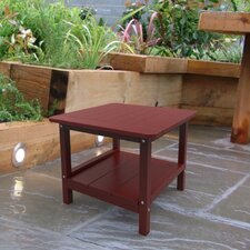 <strong>Malibu Outdoor Living</strong> Square End Table