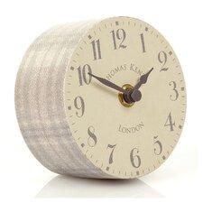Portobello Plaid Mantel Clock