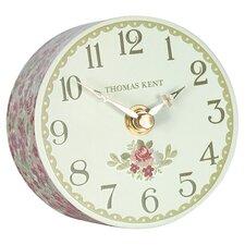Portobello June Roses Mantel Clock