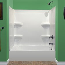 "Deluxe 75"" x 54"" Tub and Wall Kit"