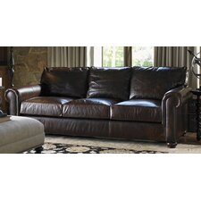 <strong>Lexington</strong> Images of Courtrai Flanders Leather Sofa