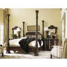 Florentino Vittorio Four Poster Bedroom Collection