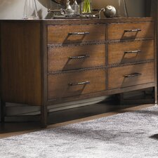 11 South 6 Drawer Distressed Boutique Dresser