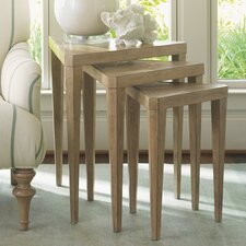 Monterey Sands Cupertino Triangular Nesting Tables