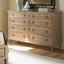 Monterey Sands Hollister 8 Drawer Dresser