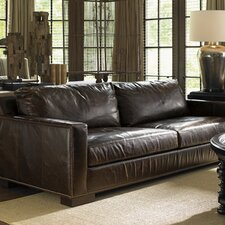 Images of Courtrai Reuben Leather Sofa