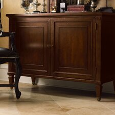 <strong>Lexington</strong> Barclay Square Columbia Accent Chest and Optional Mirror Set
