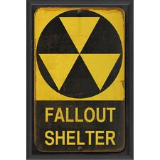 <strong>Blueprint Artwork</strong> Fallout Shelter Wall Art