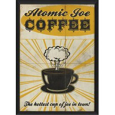 Atomic Joe Coffee Wall Art
