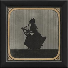 The Lyre Framed Graphic Art