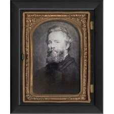 Herman Melville Tintype Framed Photographic Print