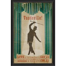 Vaudeville Wall Art