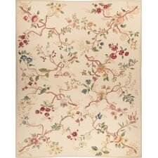 Milano Savonile Branches Wedgewood Flowers Rug