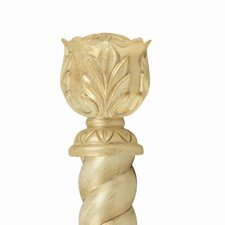 <strong>Gould NY Drapery Hardware</strong> Fashion Avenue Constance Curtain Finial