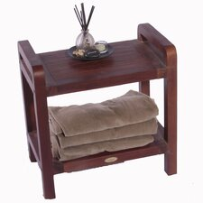 Lift Aide Ergonomic Teak Spa Stool