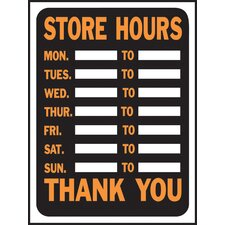 <strong>Hy-Ko</strong> Store Hours Sign