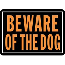 <strong>Hy-Ko</strong> Beware of The Dog Sign