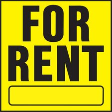 For Rent Sign (Set of 20)