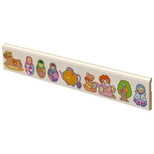Babushka Dolls Wall Border