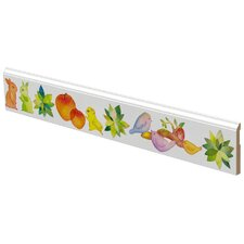 Birds Bunnies Apples Wall Trim