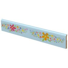 Floral Garland Wall Border