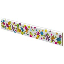 Pop Art Bears Wall Trim