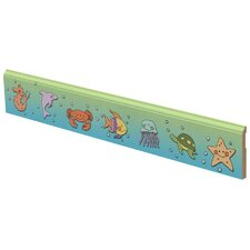 Sea Creatures Wall Border