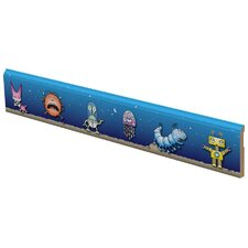 Space Creatures Wall Border