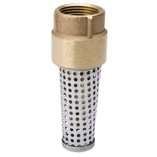 "1.25"" Brass Foot Valve"