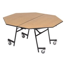 "27"" x 60"" Octagon Mobile Table Unit"