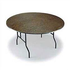 <strong>Midwest Folding Products</strong> Round Banquet Table with Plywood Top