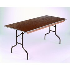<strong>Midwest Folding Products</strong> Rectangular Banquet Table  with Plywood Top