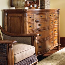 <strong>Tommy Bahama Home</strong> Island Estate Barbados Triple 13 Drawer Dresser