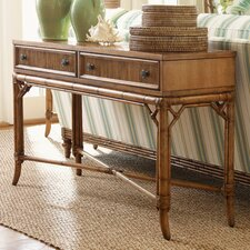 <strong>Tommy Bahama Home</strong> Beach House Palm Coast Distressed Console Table