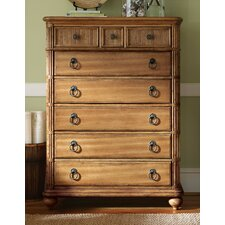 Beach House Gulf Shores 10 Drawer Chest