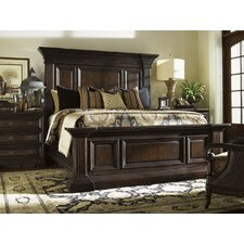 Island Traditions Sutton Place Pediment Panel Bedroom Collection