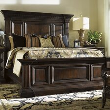Island Traditions Sutton Place Pediment Panel Bed