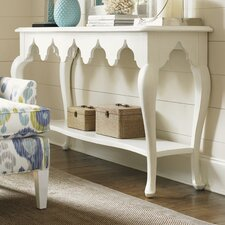Ivory Key Console Table