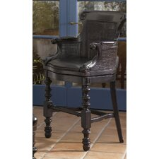 Kingstown Dunkirk Swivel Counter Stool in Tamarind