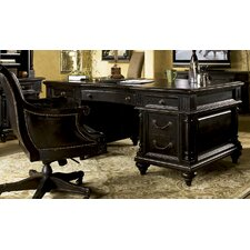 <strong>Tommy Bahama Home</strong> Kingstown Admiralty Executive Desk with Chair