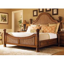 <strong>Tommy Bahama Home</strong> Island Estate Round Hill Panel Bed