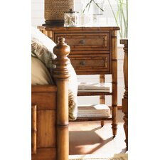 Island Estate Ginger Island 2 Drawer Nightstand
