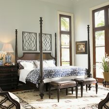 <strong>Tommy Bahama Home</strong> Royal Kahala Four Poster Bedroom Collection