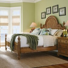 <strong>Tommy Bahama Home</strong> Beach House Belle Isle Panel Bed