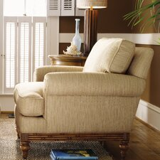 Beach House Golden Isle Chair and Ottoman