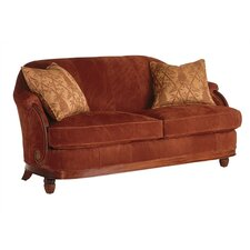 Royal Palms Tight Back Leather Sofa