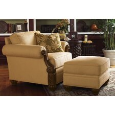 Benoa Harbour Chair and Ottoman