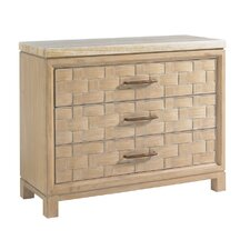 <strong>Tommy Bahama Home</strong> Road to Canberra Perth 3 Drawer Bachelor's Chest