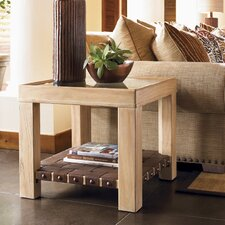 <strong>Tommy Bahama Home</strong> Road to Canberra Hobart End Table