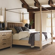 <strong>Tommy Bahama Home</strong> Road to Canberra Queensland Poster Canopy Bed